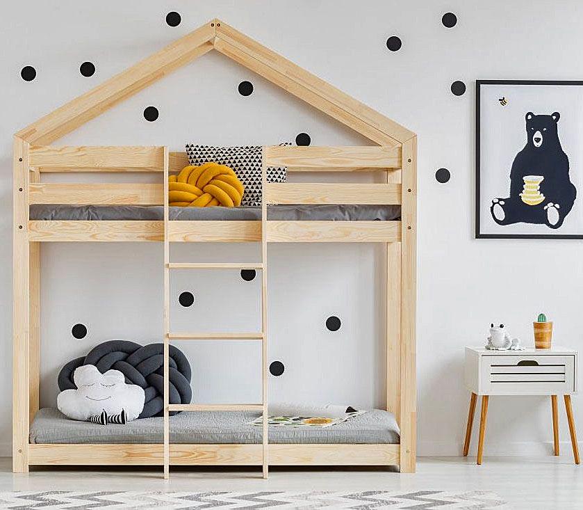 Piętrowe łóżko domek Miles 6X