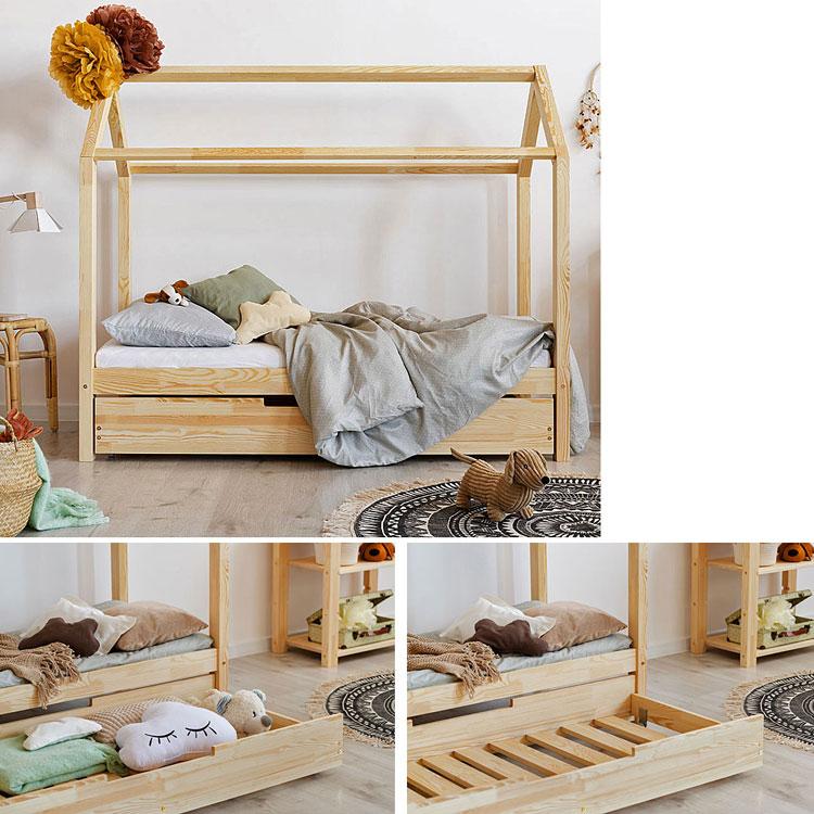 Łóżko domek z szufladą Miles 14X