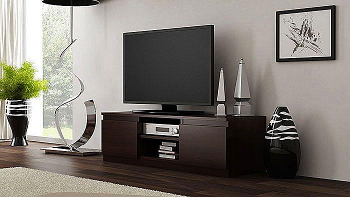 Szafka pod telewizor Verta w kolorze wenge