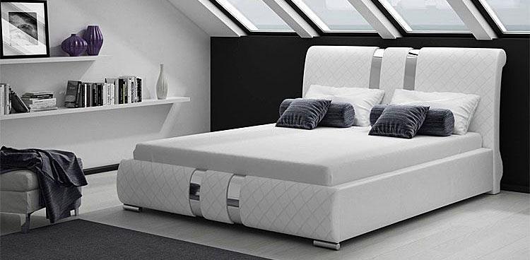 Łóżko tapicerowane Megan 2X