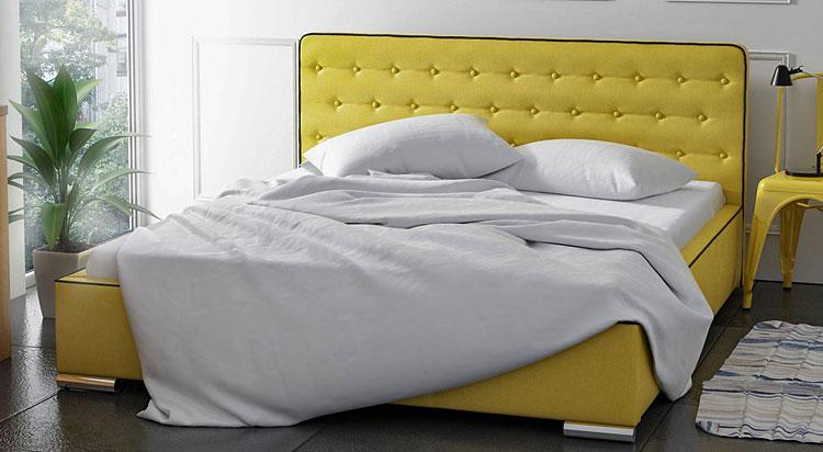 Łóżko tapicerowane Olzaf
