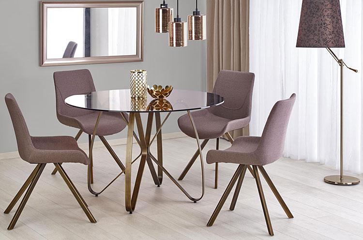 Stół Alesi - złoty