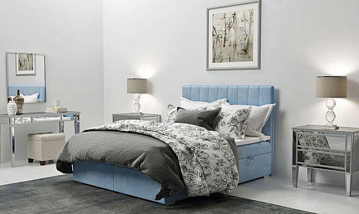 Pojedyncze łóżko hotelowe Provence