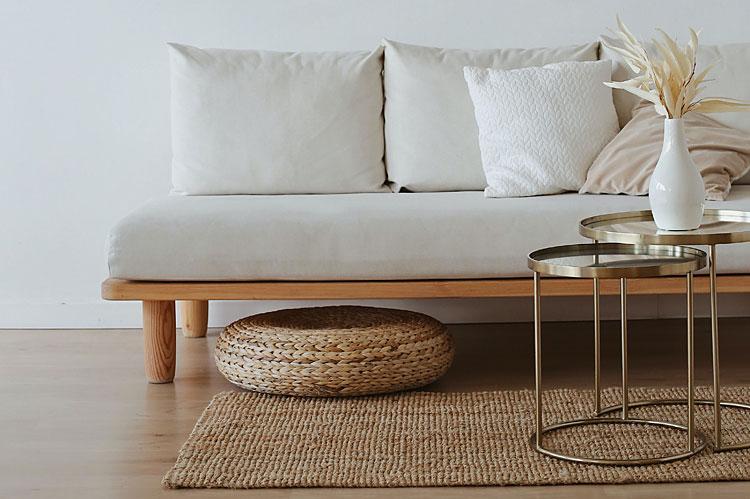 Wnętrze w stylu minimalistycznym.