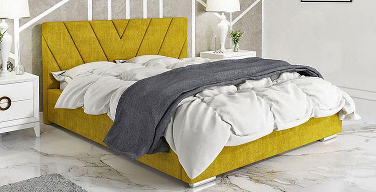 pojedyncze łóżko ze schowkiem do małej sypialni