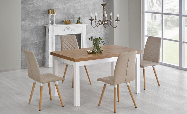 modernistyczny stół rozkładany