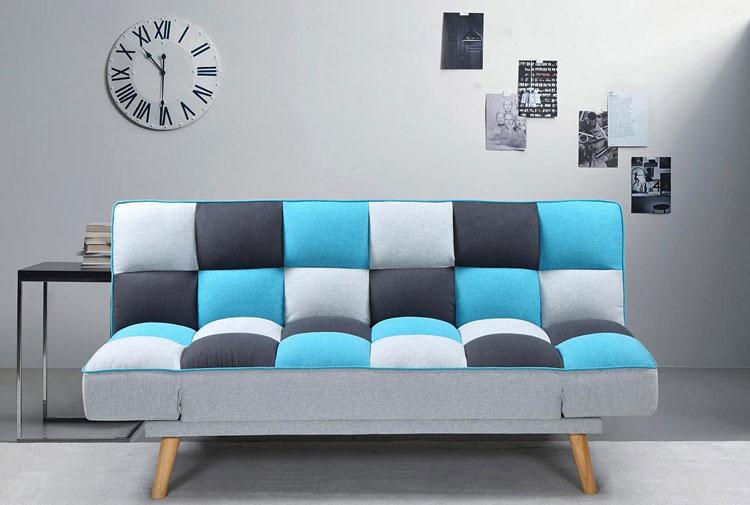 nowoczesna kanapa rozkładana z funkcją spania
