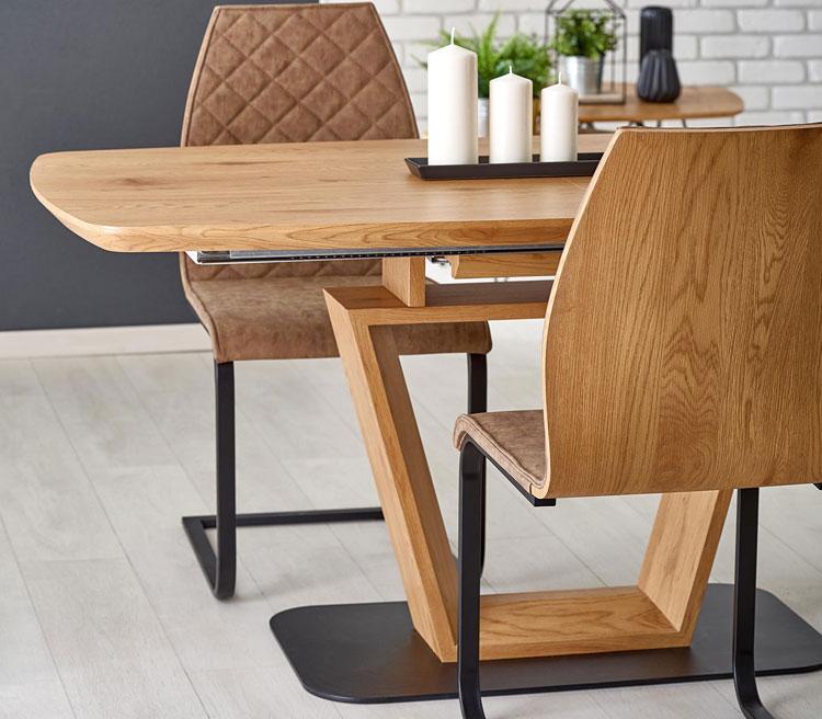 drewniany stół loft