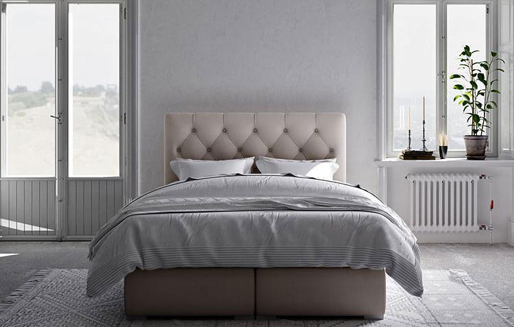 pojedyncze łóżko kontynentalne