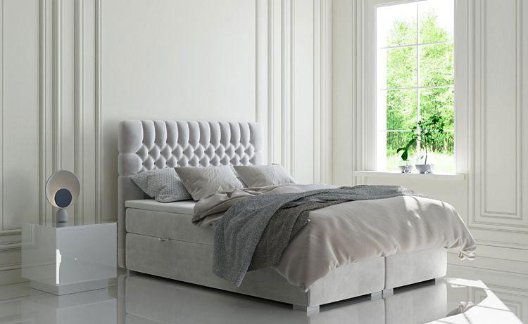 pojedyncze łóżko w sypialni