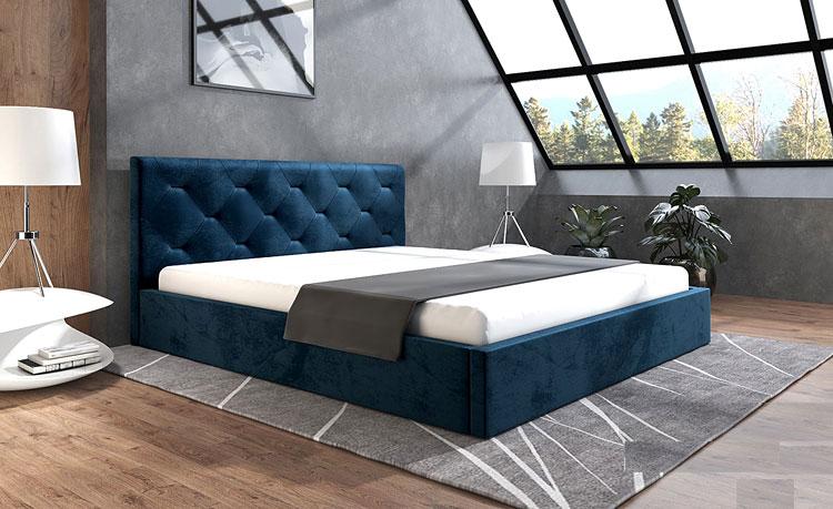 przykładowa aranżacja sypialni na poddaszu