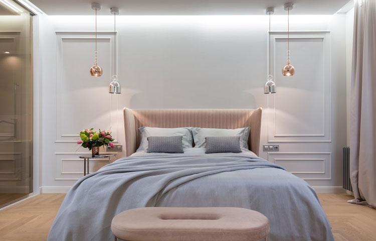 przykładowa aranżacja sypialni